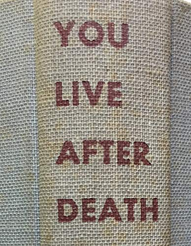 9780910140164: You Live after Death