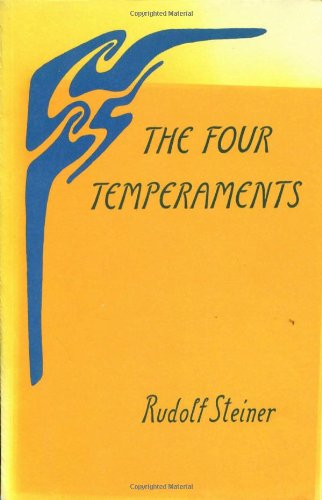 9780910142113: The Four Temperaments: 1 lecture, Berlin, March 4, 1909 (CW 57) (Collected Works)