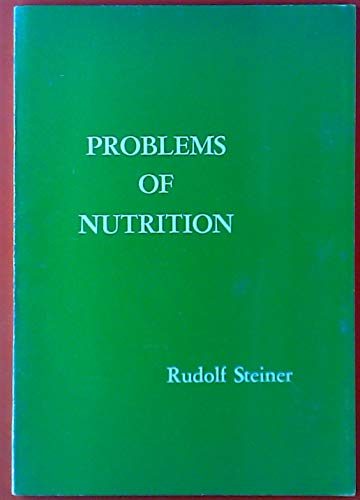 9780910142311: Problems of Nutrition.