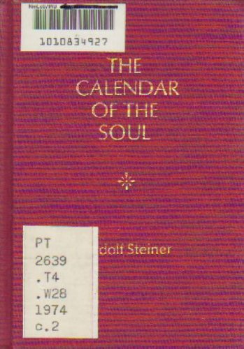 9780910142571: Calendar of the Soul