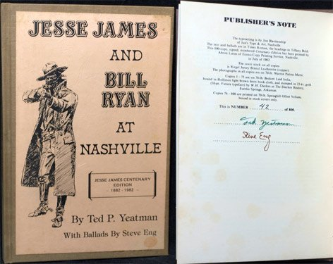 9780910151009: Jesse James and Bill Ryan at Nashville