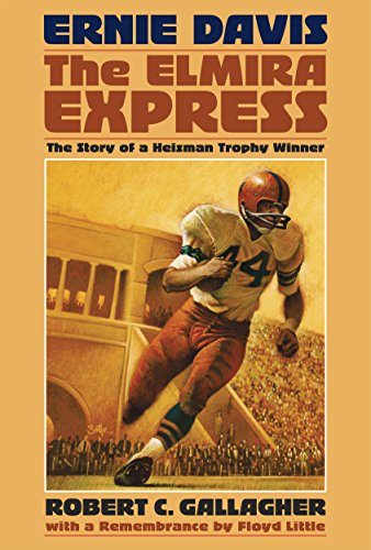 9780910155755: Ernie Davis, the Elmira Express: The Story of a Heisman Trophy Winner