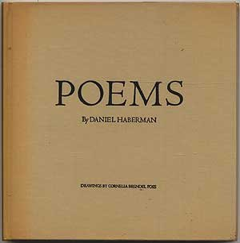 Poems: Haberman, Daniel