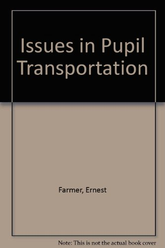 9780910170499: Issues in Pupil Transportation