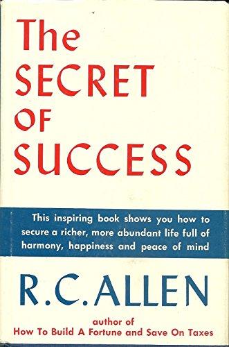 9780910228015: Secret of Success