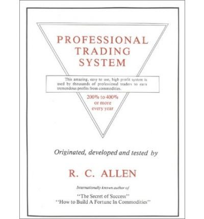 9780910228107: Professional Trading System