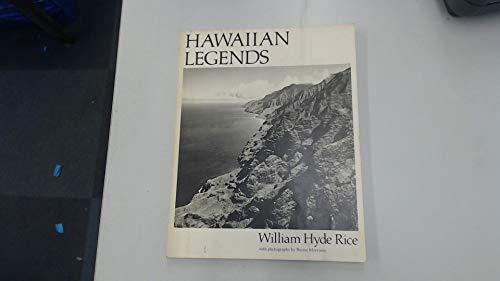 Hawaiian legends (Bernice P. Bishop Museum special publication): Rice, William Hyde