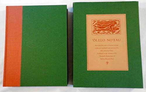 9780910240918: 'Olelo No'eau: Hawaiian Proverbs & Poetical Sayings (Bernice P. Bishop Museum Special Publication)