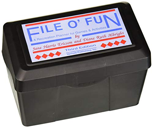 9780910251853: File O Fun: The Leaders Planner for Games and Activities