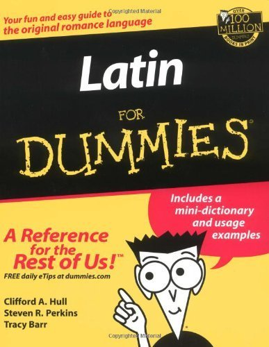 9780910305327: Latin For Dummies by Hull, Clifford A. Published by For Dummies 1st (first) edition (2002) Paperback