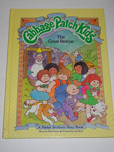 Cabbage Patch Kids, The Great Rescue: Taylor, Mark, Brett,