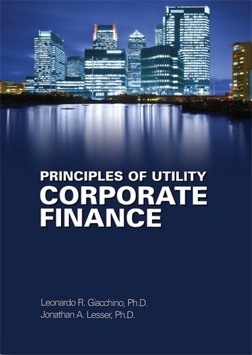 9780910325240: Principles of Utility Corporate Finance