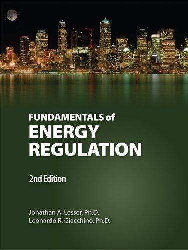 9780910325332: Fundamentals of Energy Regulation 2nd. Edition