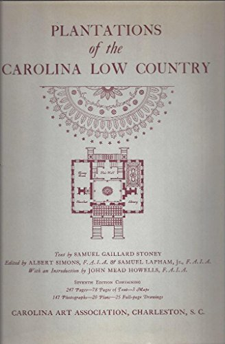 9780910326032: Plantations of the Carolina low country