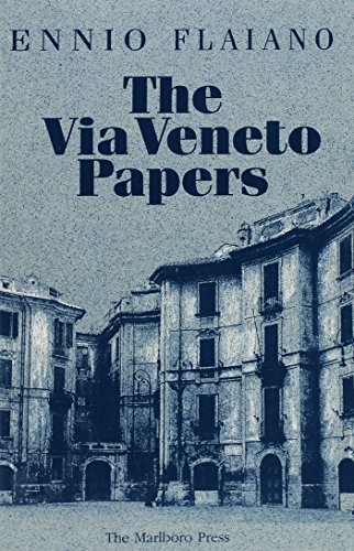 9780910395670: Via Veneto Papers