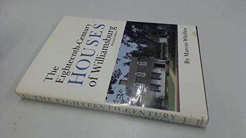 9780910412056: The Eighteenth-Century Houses of Williamsburg