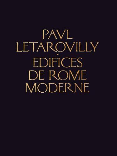 9780910413008: Edifices De Rome Moderne