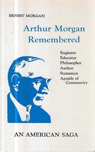 9780910420310: Arthur Morgan Remembered