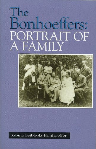 9780910452786: The Bonhoeffers: Portrait of a Family