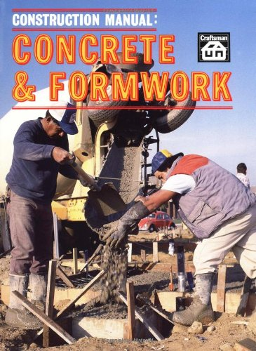 9780910460033: Construction Manual: Concrete and Formwork