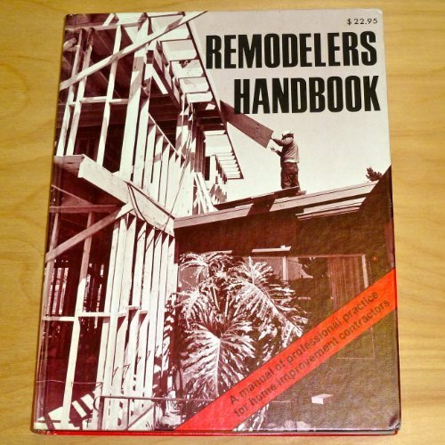 Remodeler's Handbook: Benjamin Williams