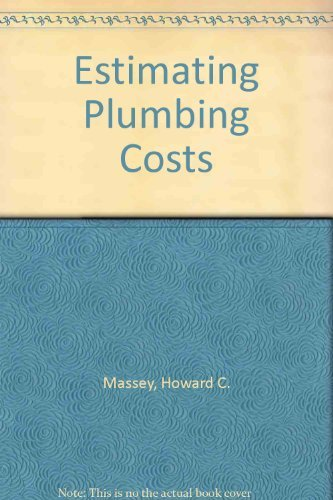 9780910460828: Estimating Plumbing Costs