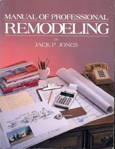 9780910460989: Manual of Professional Remodeling