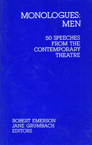 Monologues Men: Fifty Speeches from the Contemporary Theatre