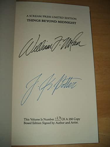 THINGS BEYOND MIDNIGHT: Nolan, William F.