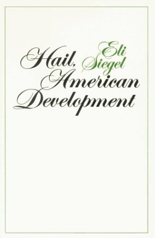 Hail, American Development: Siegel, Eli