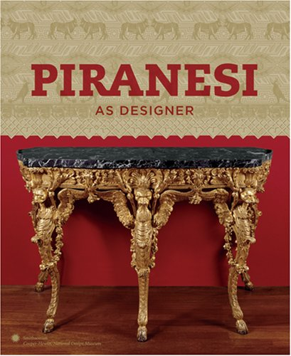 9780910503969: Piranesi As Designer