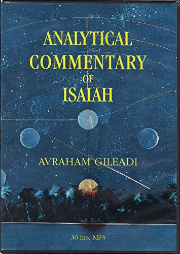 9780910511155: Analytical Commentary of Isaiah MP3