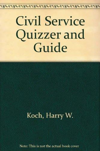 9780910553209: Civil Service Quizzer and Guide