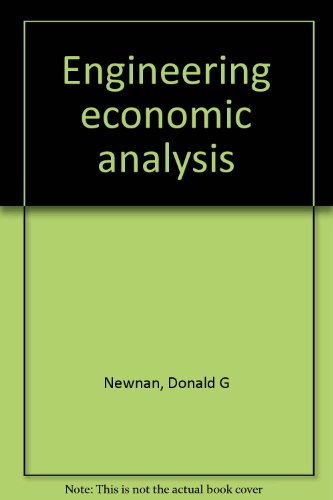 9780910554237: Engineering economic analysis