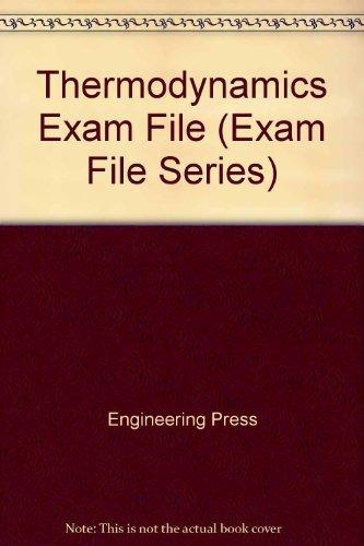9780910554497: Thermodynamics Exam File (Exam File Series)