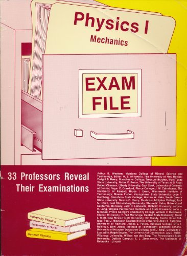 9780910554541: Physics I: Mechanics (Exam File Series)