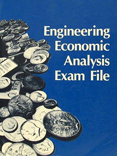 9780910554817: Engineering Economic Analysis Exam File