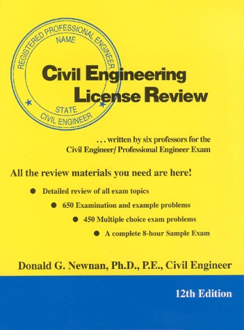 9780910554909: Civil Engineering License Review