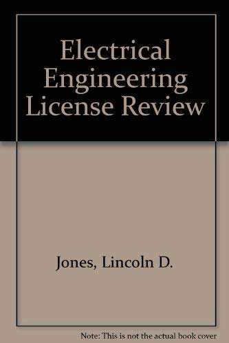 9780910554923: Electrical Engineering License Review