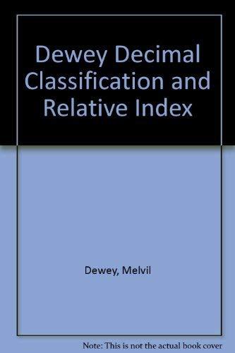 9780910608138: Abridged Dewey decimal classification and relative index
