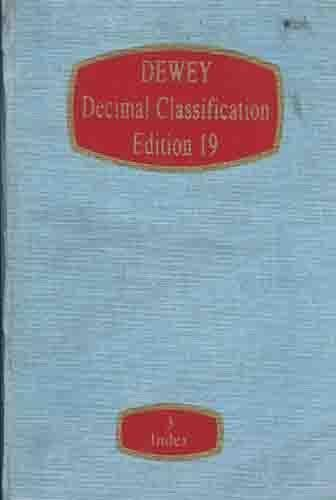 9780910608237: Dewey decimal classification and relative index