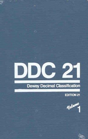9780910608503: Dewey Decimal Classification and Relative Index