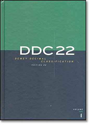 9780910608701: DDC 22 Dewey Decimal Classification and Relative Index (Dewey Decimal Classification & Relative Index)