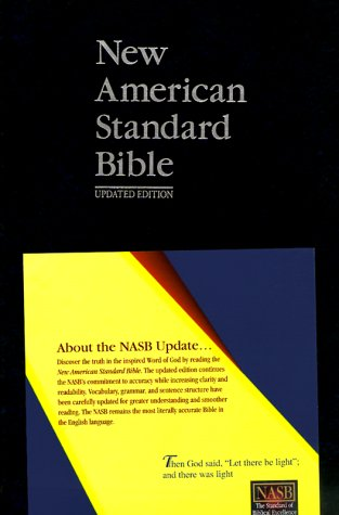 9780910618465: New American Standard Bible (NASB) Update Side-Column Reference; Blue