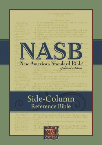 NASB Update Side-Column Reference; Black Bonded Leather: The Lockman Foundations