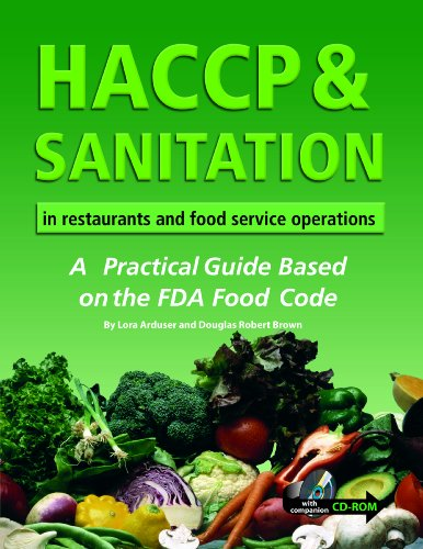 HACCP and Sanitation in Restaurants and Food: Douglas Robert Brown,