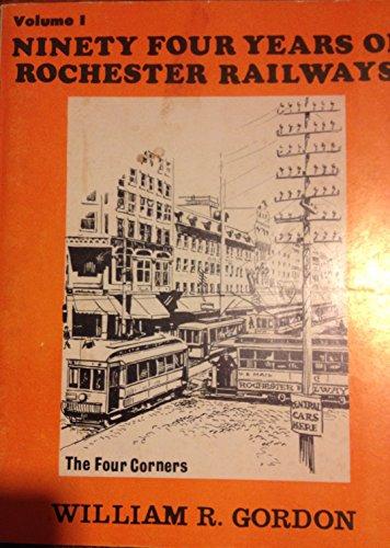 9780910662123: 94 years of Rochester railways