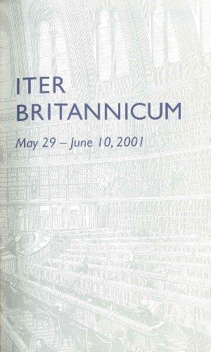 9780910672450: The Grolier Club Iter Britannicum