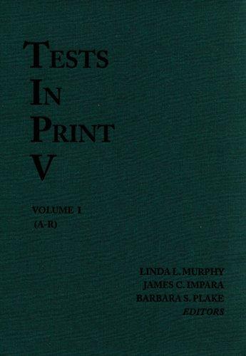 9780910674515: Tests in Print V (Tests in Print (Buros))