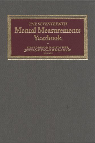 The Seventeenth Mental Measurements Yearbook: Geisinger, Kurt F./